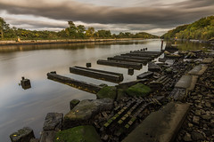 Decay (Rob Pitt) Tags: msc manchestershipcanal landing stage longexposure wirral cheshire rob pitt photography uk wirrall booston woods ellesmereport rivacrevalley