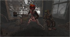 Scary Clown (Wredziaa & Fabian50000pl) Tags: accessories fabian fb flickr hair hammer hat isuka outfit r2a tattoo wffashion