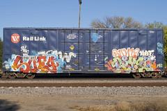 Suey Royl87 (Psychedelic Wardad) Tags: freight graffiti tck mf royl royl87 dirty30 d30 dts suey