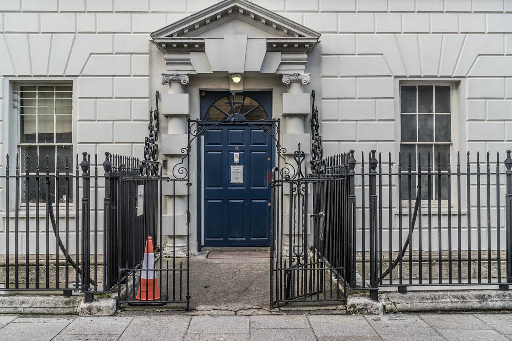 DOORS OF DUBLIN No. 9 HENRIETTA STREET [ST VINCENTS TRUST]-133286