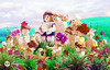 Le chevalier aux fleurs (Young's Lego) Tags: le chevalier aux fleurs lego legography photo photography ki young nice painting