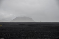 Nowhere... / Black Sand Field - Iceland (Toine B.) Tags: solheimasandur black sand iceland island fog nikon d750 tamronsp2470mmf28divcusd tamron2470