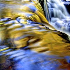 Soulful (pauldunn52) Tags: waterfall brecon beacons blue gold long exposure