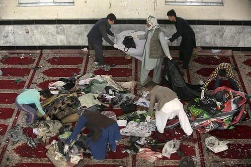 আফগানিস্তানে দুই মসজিদে হামলা নিহত ৭২