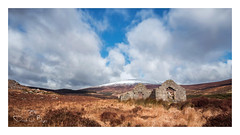Ireland's Ancient East (Derek O'Bryan) Tags: ireland ancient east mountains wicklow cold blue colour sky brown ruins church clouds totalphoto
