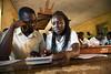 Girls education in Yambio (Albert Gonzalez Farran) Tags: classes education female gender genderequality girls lessons school studies studying teacher teaching yambio westernequatoria southsudan