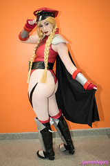 Shadaloo Cammy cosplay (The Doppelganger) Tags: cammy cammywhite mbison shadaloo streetfighter cosplay cosplayer butt booty thong nycc nycc2017 newyorkcomiccon