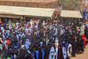 Crowds at the Sultan's audience (Hannes Rada) Tags: niger crowds sultans audience bianou festival agadez