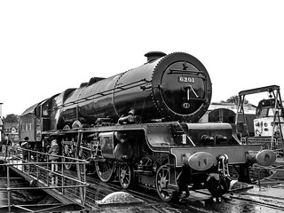 6201 'Princess Elizabeth', Tyseley
