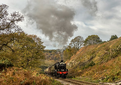 NYMR 28-10-2017 (KS Railway Gallery) Tags: nymr railway uk steam nelpg dining train beck hole