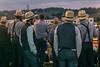 Hat Parade (TuthFaree) Tags: hss slidersunday amish hats bonnets ohio people auction vests men night straw