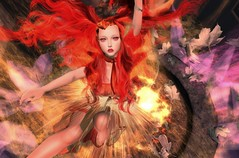 Electra- coyume (missemisse) Tags: virtual dance showcase theater image monsters sl secondlife lea lea27