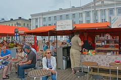 Kauppatori market, Helsinki (JohntheFinn) Tags: helsinki finland suomi eurooppa europe tourism matkailu market tori salutorget kesä summer