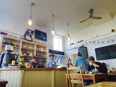 Curiosity Corner Cafe (vintage vix - Everything is a miracle) Tags: cafe candid
