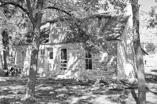 Main House at Frijole Ranch