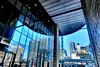 downtown, Higobashi, Osaka (jtabn99) Tags: higobashi building casiohdrartmode glass window underground 20171102 osaka japan nippon nihon 日本 大阪 肥後橋 高層ビル フェスティバルホール 快晴 fine