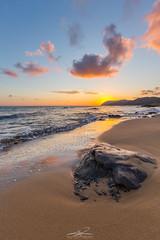 Atardecer Calblanque (2) (J. Cuenca) Tags: playa cartagena calblanque rocas roca agua mar arena costa murcia sol nubes canon canon6d 1635