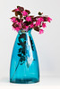 Blue & Pink from the backyard and the cupboard (Frances Jayne Imagery) Tags: garden blue blooms vase flowers ponk nature