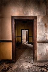 Doorways (shutterclick3x) Tags: abandoned decayed derelictbuilding urbex ruins doors frankloose