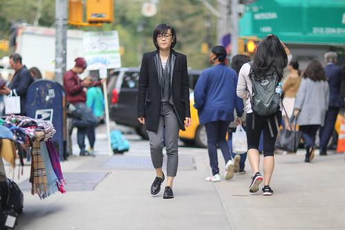 People on 6th Avenue.