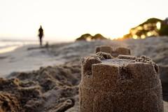 Sandcastles. Sunset walk, Cambrils Spain Oct '17. #explored #beach #sand #sandcastles  #sunset #Cambrils #Spain  #catalonia #sunsetwalk #rushie. #holidaysnaps #holiday  #fujifeed #fuji #fuji100xt #fuji100 (Rushie.) Tags: spain beach cambrils fuji100xt holidaysnaps catalonia holiday fujifeed sandcastles fuji rushie sunset sand sunsetwalk fuji100