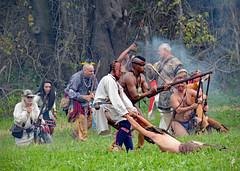 Mississinewa 1812 (jcdriftwood) Tags: mississinewa1812 mississinewa mississinewariver battleofthemississinewa marionindiana 1812 warof1812 reenactment reenactors