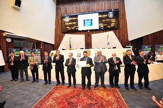 Sessão solene em homenagem aos 50 anos do IPEM/PR