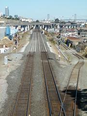 Caltrain (Jef Poskanzer) Tags: caltrain tracks oakdale geotagged geo:lat=3773733 geo:lon=12239492 t