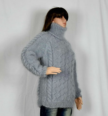 Mohair aranstyle honeycomb turtleneck (Mytwist) Tags: turtleneck turtlemeck tneck tn colroulé col roulé colroule cabled cables cable highneck highcollar high collar correctstore unisex fashion wool sexy knitted design cozy aranstyle authentic dicipline donegal fetish fuzzy fair grobstrick handgestrickt handknitted handknit craft classic passion love polo