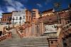 La Escalinata, Teruel (Jocelyn777) Tags: mudejar neomudejar staircase stairs azulejos architecture monuments aragon teruel spain travel worldtrekker