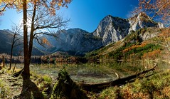 time for a brake (Andreas.W.) Tags: lakeview lakeside lake bergsee bergblick salzkammergut oberösterreich ebensee austrianmountains mountains alps alpen oberöstereich upperaustria höllengebirge brunnkogel xt10