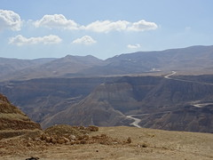 Mountains near the Dead Sea