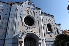 Bratislava - Kostol svätej Alžbety (Modrý kostolík)