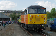 IMGP6154 (mattbuck4950) Tags: england unitedkingdom europe lenspentax18250mm september railways trains diesellocomotives mainlinerailways london 2017 camerapentaxk50 londonboroughofhammersmithandfulham greatwesternmainline colasrail trainmaintenancedepots oldoakcommontmd britishrailclass56 56049 londonboroughofhammersmith londonboroughofhammersmithfulham gbr