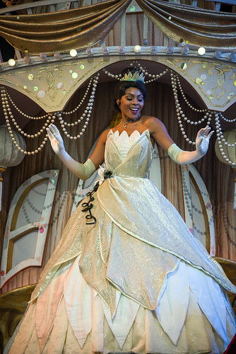 Tiana in Mickey and the Magical Map - Disneyland