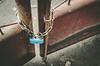 Padlock is locked (Sagittarius_photography) Tags: chain gate locked metal outdoor padlock street