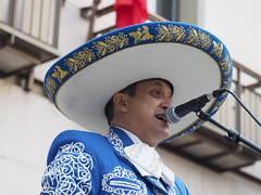 Ay Jalisco no te rajes................. (salvat1946) Tags: mariachis fiestdelgrito santjoandelesabadesse