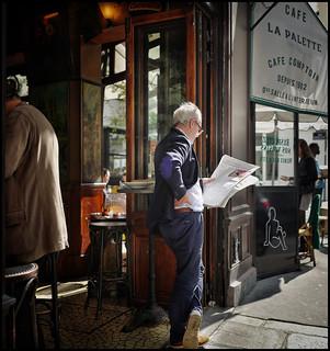 Lecture à La Palette * Paris