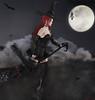 "★ Look 215 ""The Witches Are Back"" (by Marzia & Shaitan Demon) Tags: lelutka maitreya codex azoury monsohair zk anoircre blackfair2017 fameshed salem witch secondlife bentoavatars avatars ritratto moon black"