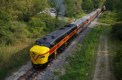 steam in valley sat 916 229 (Fan-T) Tags: steaminvalleysat916 cvsr 5771 rockside rd independance ohio alco mlw fpa4 cn