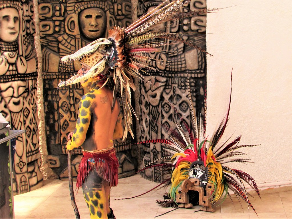 how to make a mayan feather headdress