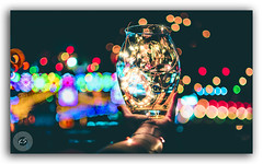The lights and festivities in the atmosphere! (FotographyKS!) Tags: glass jar vase transparent bokeh lights festive festival city night twilight street dark evening depthoffield closeup fairy art creative artistic happiness joy abstract background reflection bright glow magical streetphotography christmas newyear diwali deepavali citylights lensblur outoffocus decor celebration decoration cityview colorful diverse newdelhi capital longexposure cityscape dusk highway urban blurred kreative photography citydrive citytraffic kreativeart kreatives ngc india