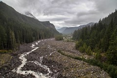 Nisqually River, Mount Rainier National Park, Washington (jbeyre) Tags: mountrainiernationalpark mountain forest river valley washington pacificnorthwest clouds nature outdoors