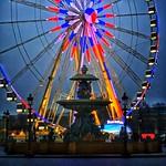 Paris France  ~   Roue de Paris  ~ Ferris Wheel ~ Fontaines de la Concorde thumbnail