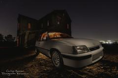 Opel Kadet GSI (Carlos Server Photography) Tags: opel kadet gsi fotografíanocturna longexposure nightscapes nightphotography lightpainting canon 1635mm stars abandoned largaexposición abandonos