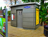 Scotland West Highlands Argyll Loch Lomond Balloch the auto toilet next to the tourist information office 14 September 2017 by Anne MacKay (Anne MacKay images of interest & wonder) Tags: scotland west highlands argyll loch lomond balloch village auto public toilet xs1 14 september 2017 picture by anne mackay