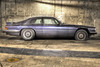 The Dusty Blue Cat - Liverpool (bmaffin) Tags: jauguar blue liverpool carpark concrete xjs 5l 5litre jag flattyre trotskyist the villiers thevilliers dusty merseyside hatton labour government