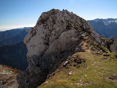 Šplevta (Damijan P.) Tags: hribi gore mountains hiking julijskealpe julianalps alpe alps gorenjska slovenija slovenia vrata šplevta prosenak jesen autumn