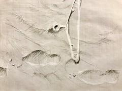 Stranded #sketch #beach #hanger #coathanger #plastic #footprints #leba #onesketchaday #poland #baltic (Jungle-Jill) Tags: sketch beach hanger coathanger plastic footprints leba onesketchaday poland baltic
