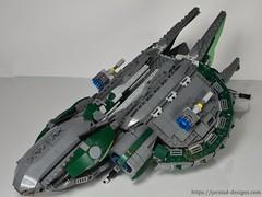 DSC_0482 (Jorstad Designs) Tags: lego star wars jorstad designs custom dropship phantom halo ucs moc